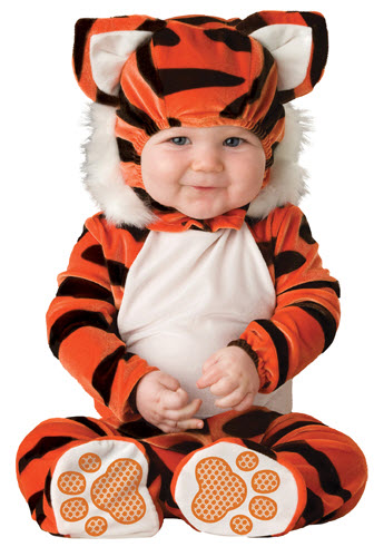 Tiger Tot Infant Costume