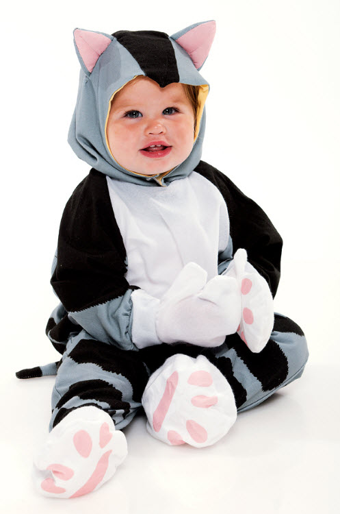The Shy Little Kitten Infant Costume
