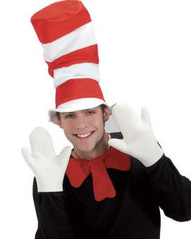Cat In The Hat Mitts