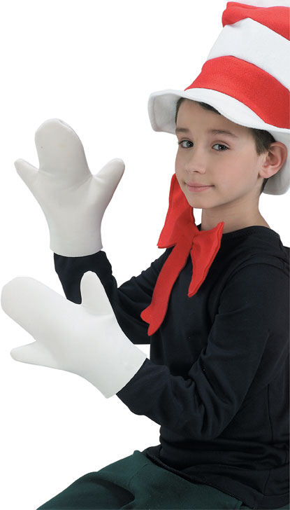 Cat in the Hat Gloves