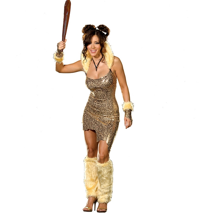Clubbin' Cave Girl Adult Costume