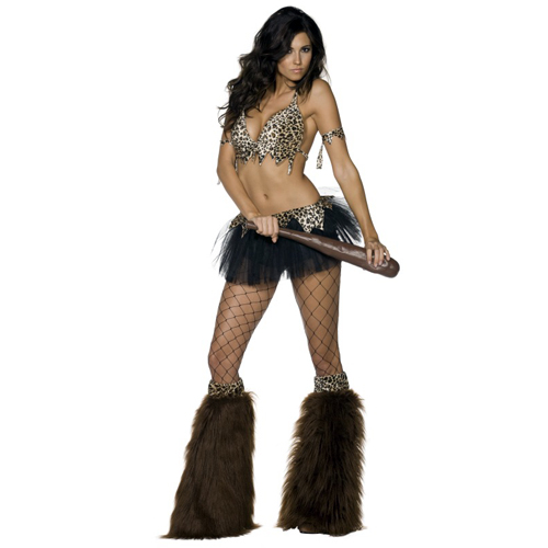 Cave Woman Babe Adult Costume
