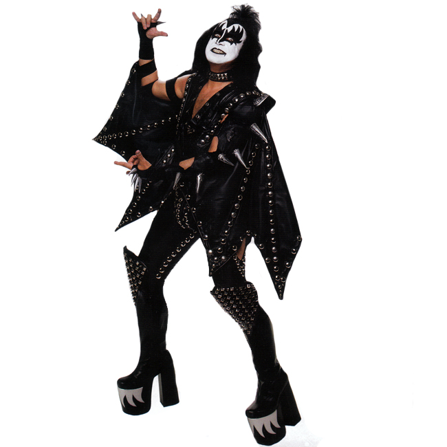 KISS Authentic Demon Costume