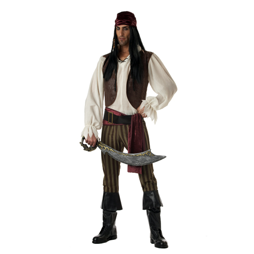 Rogue Pirate Man Costume