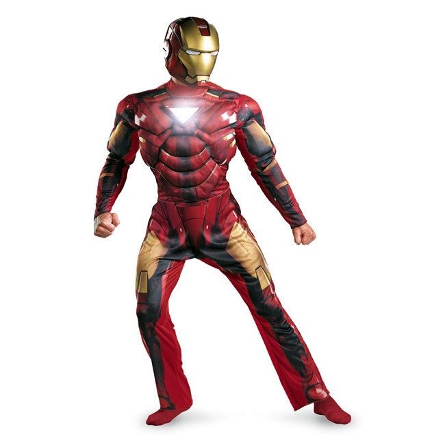 Iron Man Mark VI Deluxe Light-Up Adult Costume