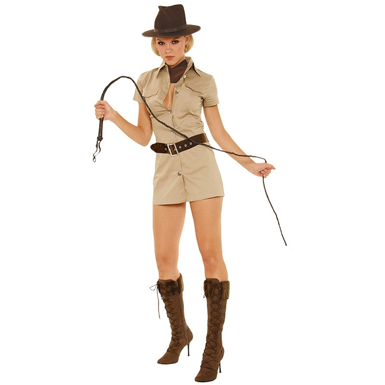 Indiana Jane Sexy Adult Costume