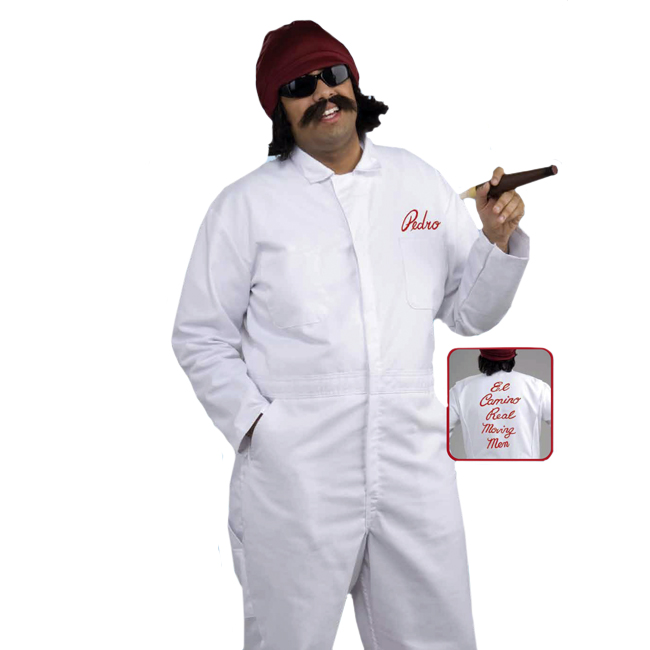 cheech el camino movers adult costume