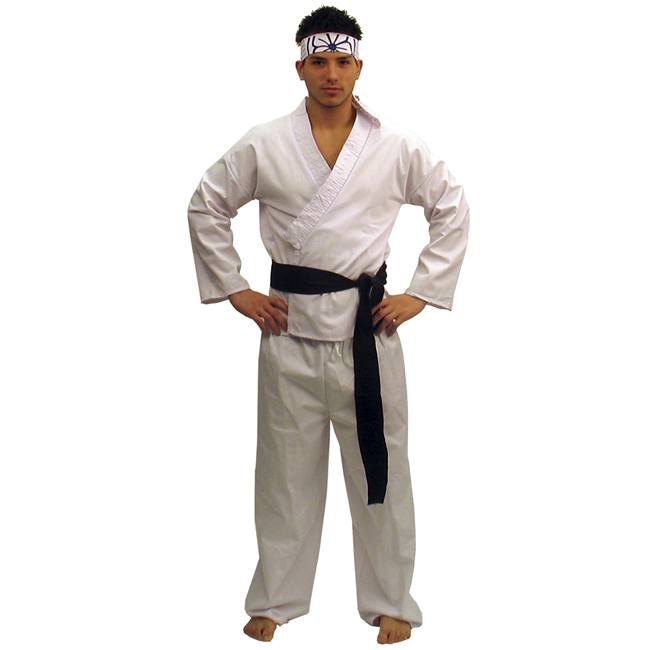 The Karate Kid Daniel-San Deluxe Adult Costume