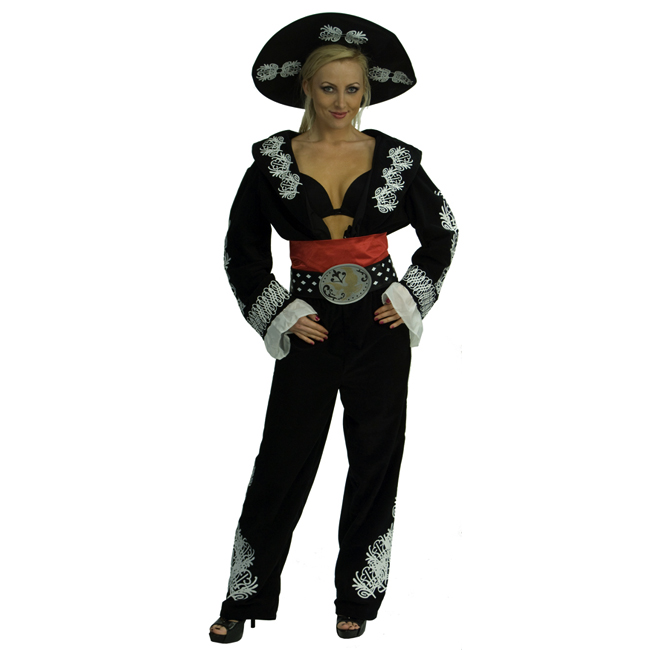 The Three Amigos Deluxe Women's Costume