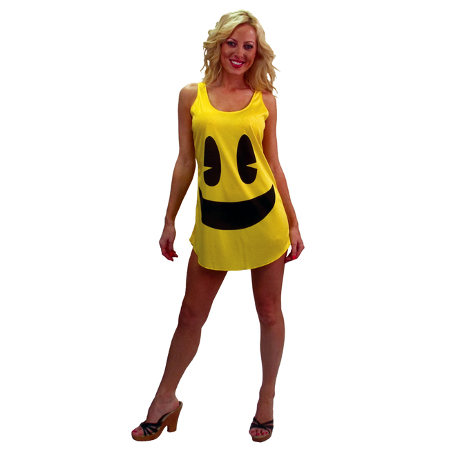 Pac-Man Tank Dress Deluxe Adult Costume