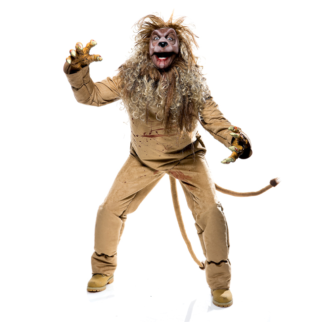 Wicked of Oz Lion Adult Costume