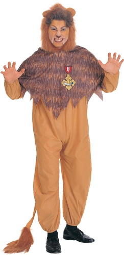 The Cowardly Lion Adult Costume