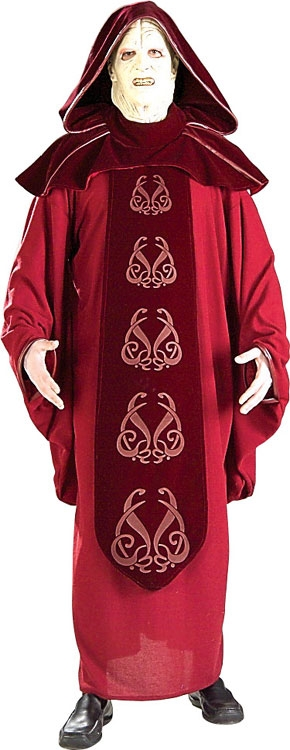 Emperor Palpatine Super Deluxe Costume - Click Image to Close