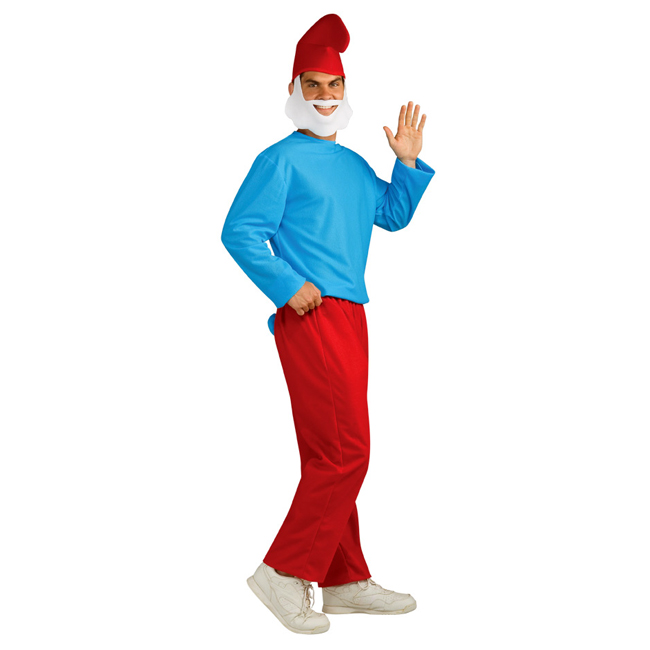 Papa Smurf Adult Costume