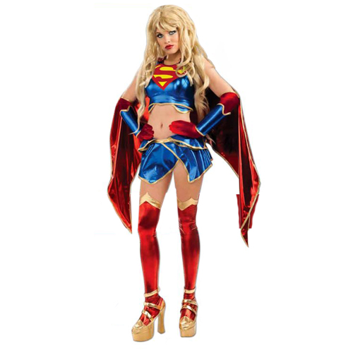 Anime Supergirl Sexy Adult Costume