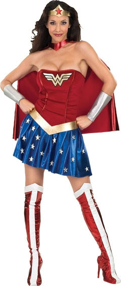 Adult Wonder Woman Sexy Costume