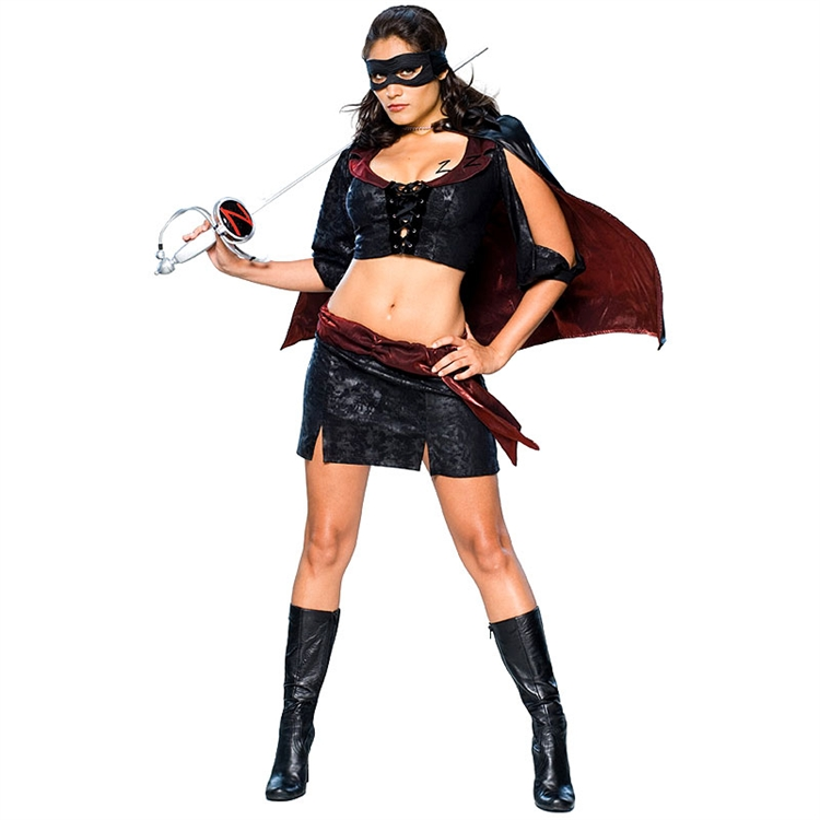Sexy Lady Zorro Adult Costume