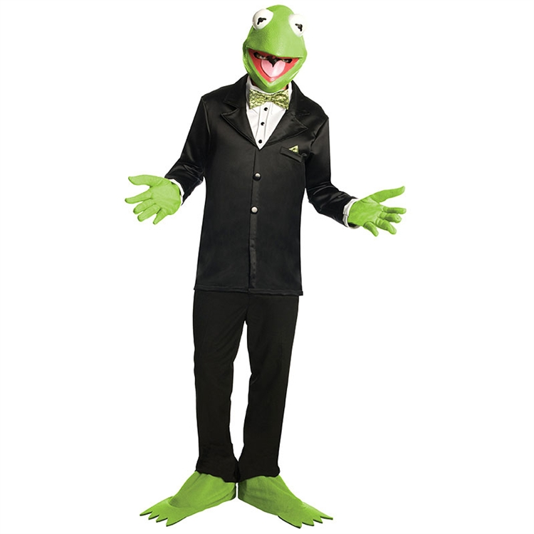 The Muppets Kermit the Frog Adult Costume