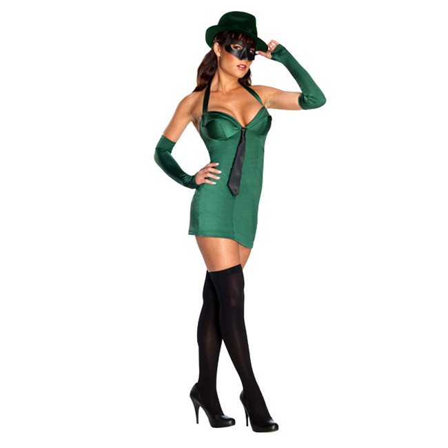 The Green Hornet Sexy Adult Costume