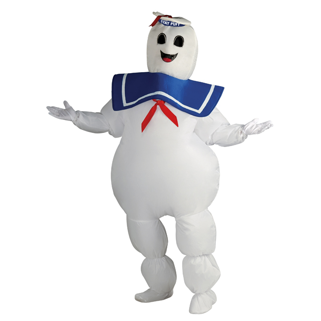 Inflatable Stay Puft Marshmallow Man Adult Costume