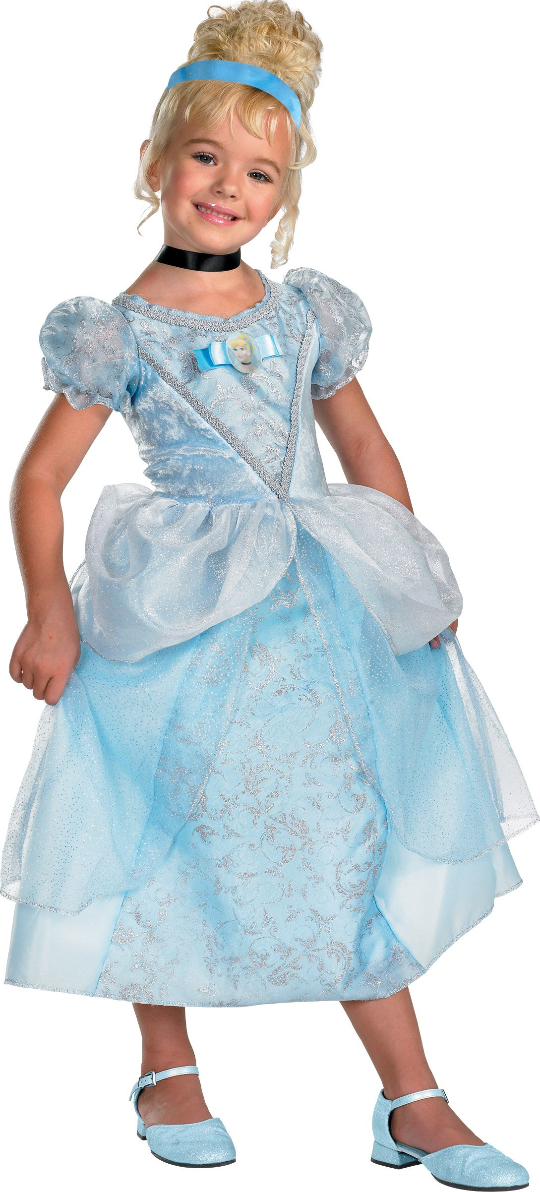 Disney Cinderella Deluxe Toddler / Child Costume
