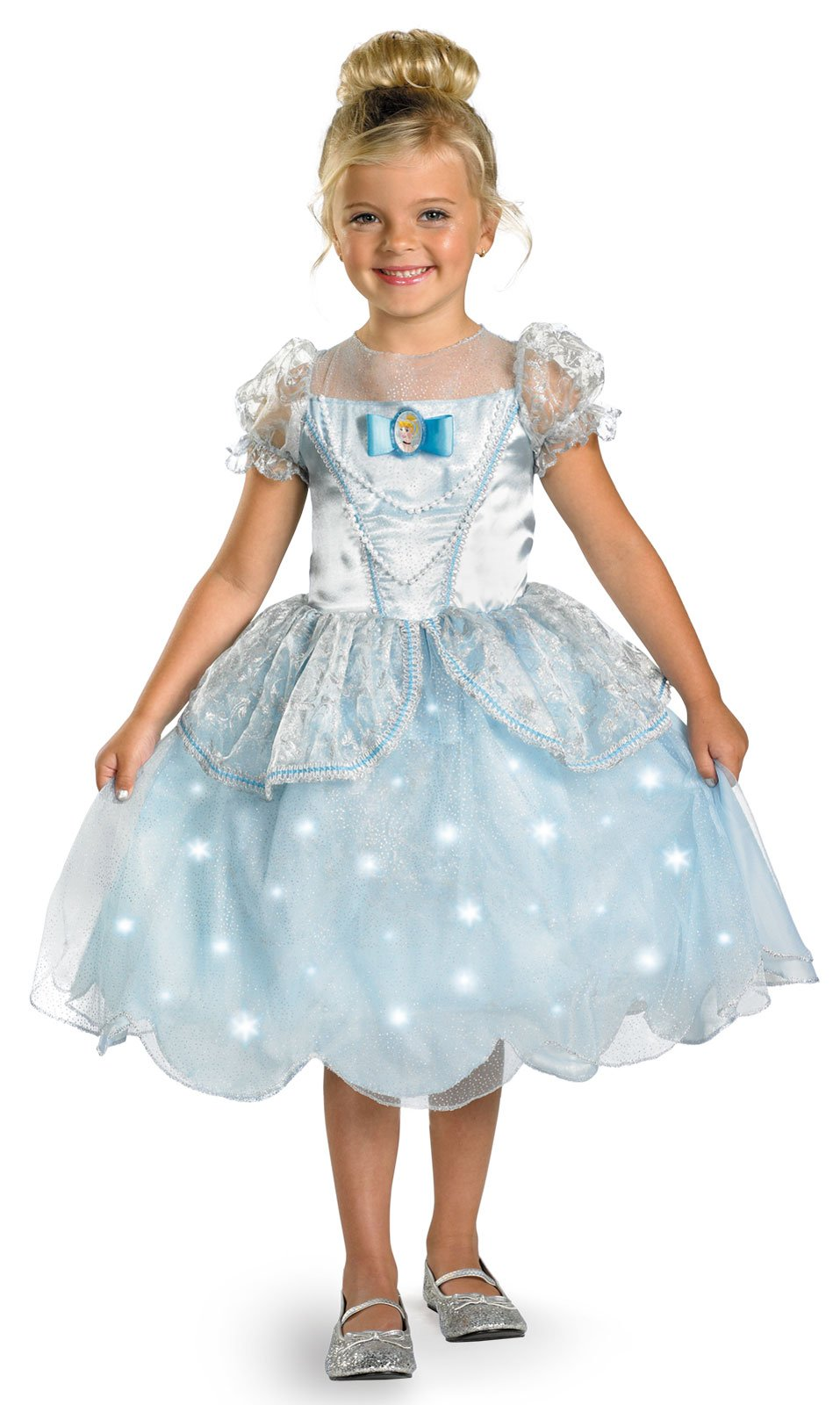 Disney Cinderella Deluxe Light Up Child Costume