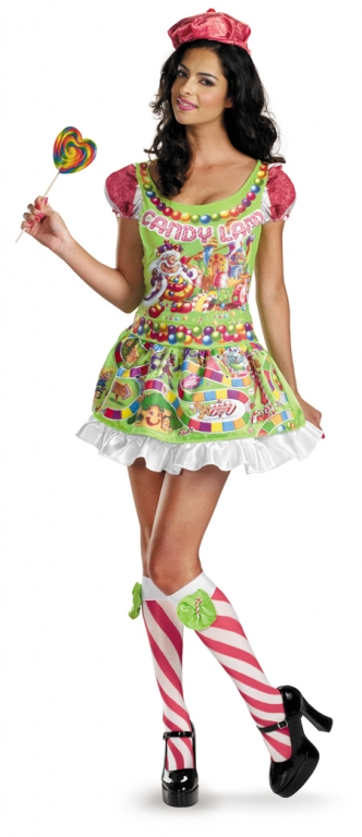 Candyland Costume - Click Image to Close