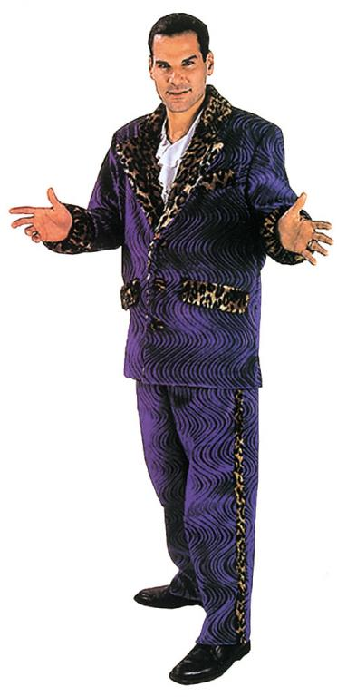 Big Daddy Purple Swirl Adult Costume