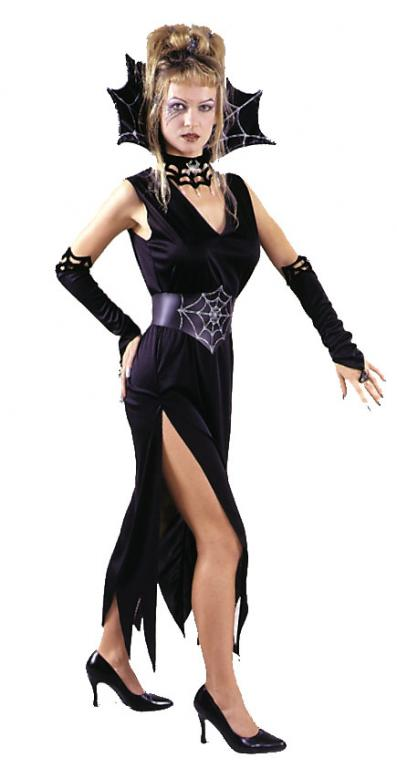 Elegant Black Widow Adult Costume