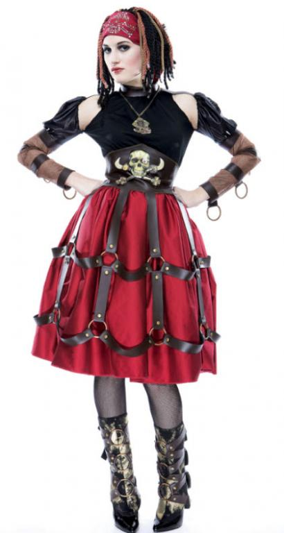 Gothwerks Pirate Wench Adult Costume