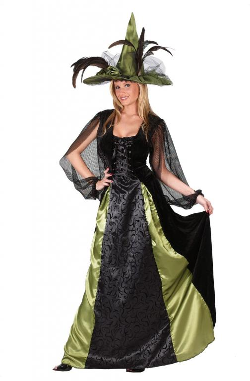 Witch Goth Maiden Adult Costume