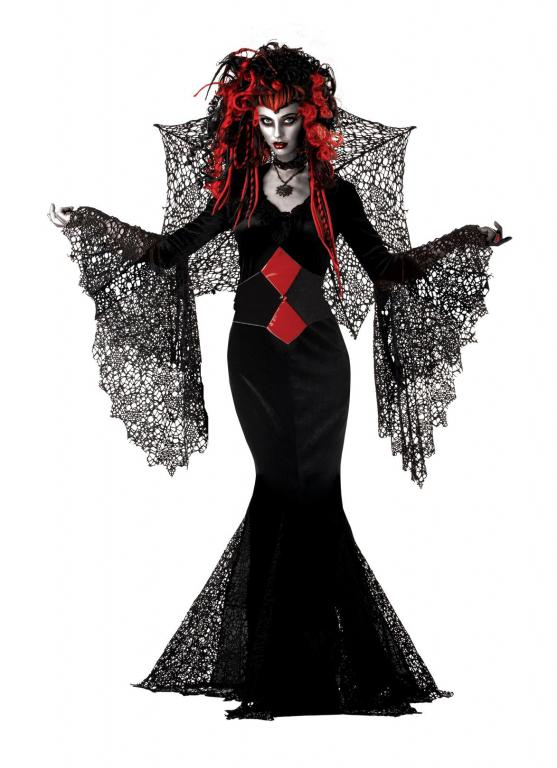 Nightmare Black Widow Adult Costume Small