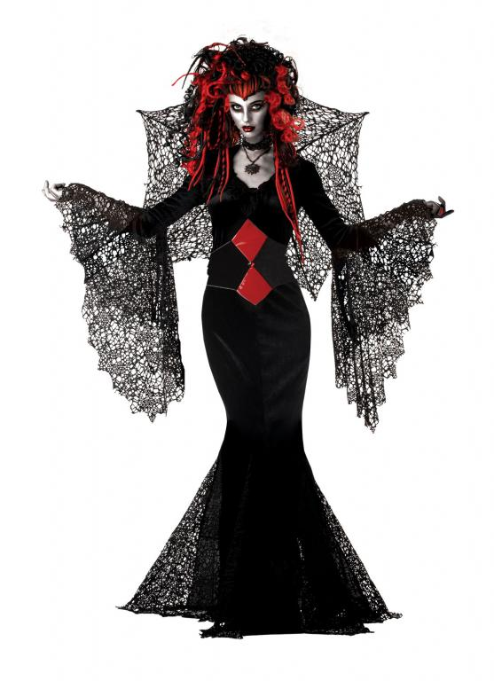 Nightmare Black Widow Adult Costume Medium