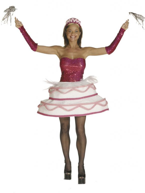 Sweet Surprise Cake Adult Costume