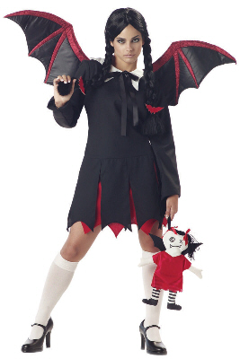 Very Bat Girl Adult Costume