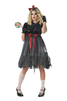 Evil Doll Adult Costume