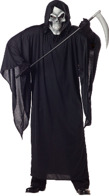 Grim Reaper Plus Size Adult Costume