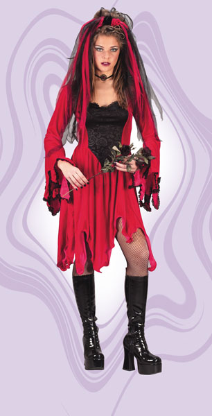 Devil Bride Adult Costume
