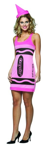 Crayola Tickle Me Pink Costume