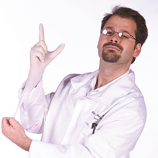 Lab Coat Seymour Bush Adult Costume