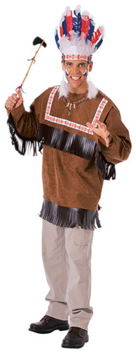Men's Cherokee Warrior Costume
