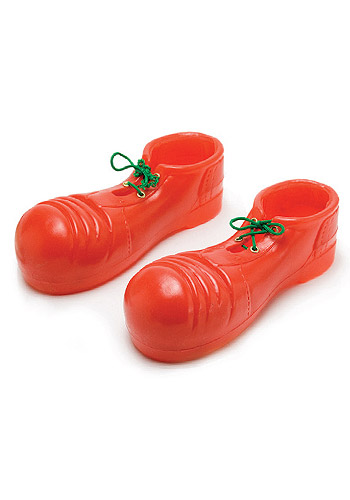 Adult Clunker Clown Shoes