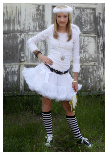 Teen Tutu Angel Costume