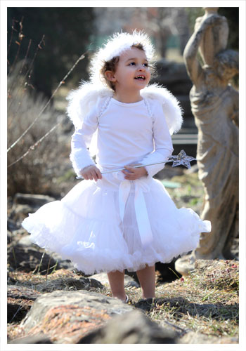 Toddler Tutu Angel Costume