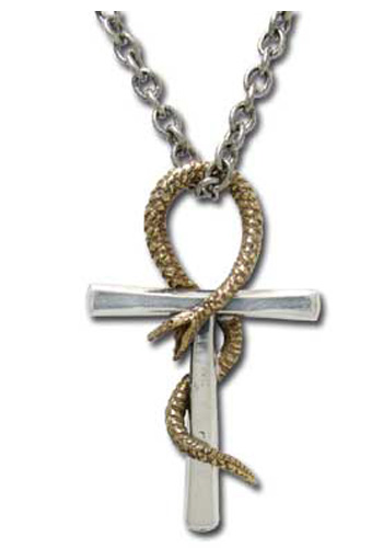 Ankh of Tau Cross Necklace