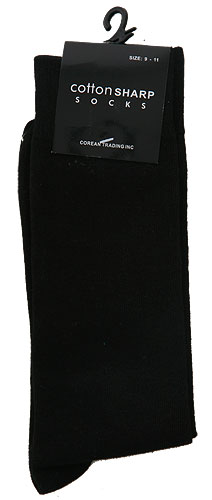 Men's Black Socks
