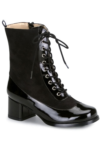 Child Black Patent Boots