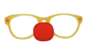 Jumbo Glasses with Clown Nose