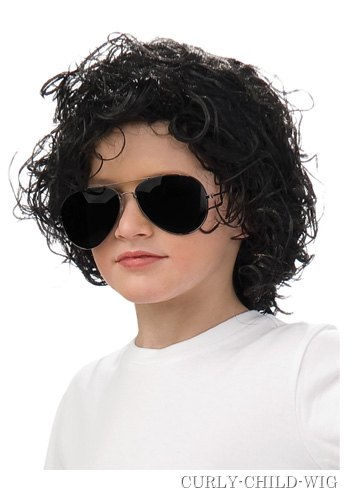 Kids Michael Jackson Wig - Click Image to Close