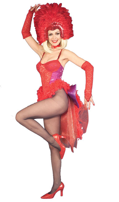 Show Girl Adult Costume